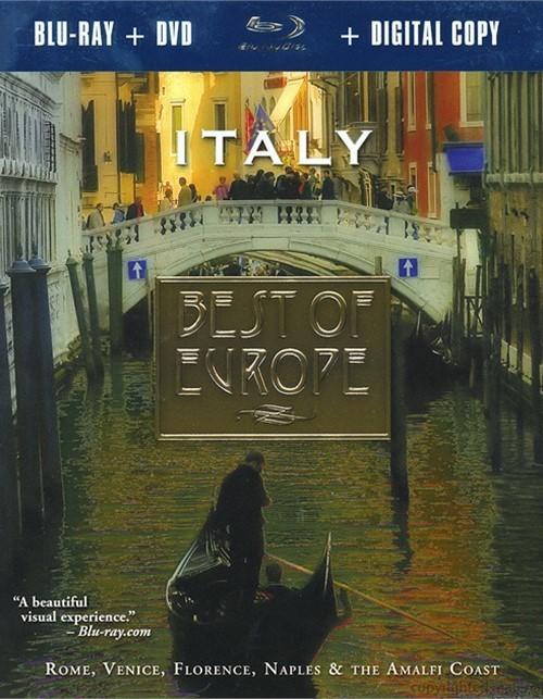 Best Of Europe: Italy (Blu-ray + DVD + Digital Copy)