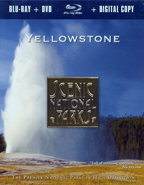Scenic National Parks: Yellowstone (Blu-ray + DVD + Digital Copy)