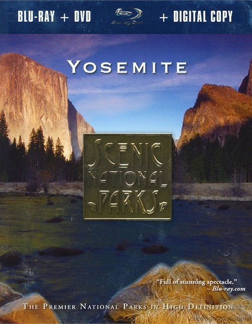 Scenic National Parks: Yosemite (Blu-ray + DVD + Digital Copy)