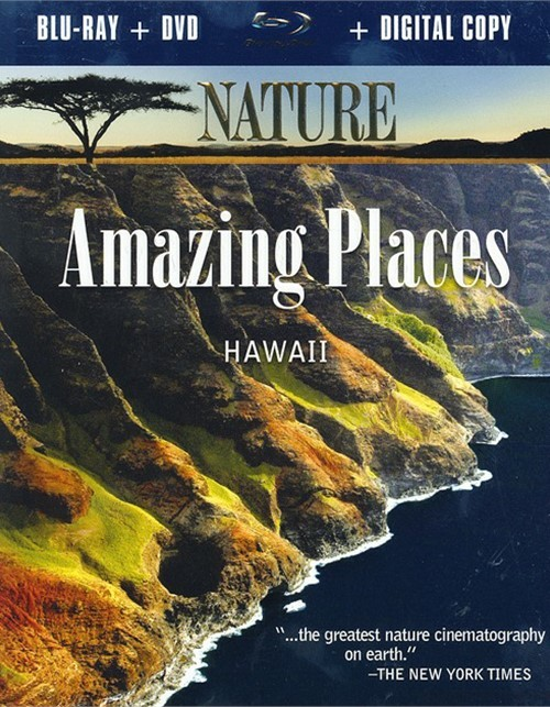 Nature: Amazing Places - Hawaii (Blu-ray + DVD + Digital Copy)