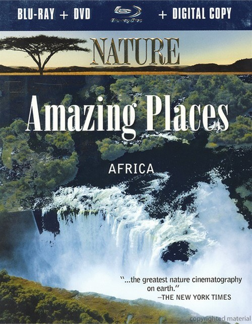 Nature: Amazing Places - Africa (Blu-ray + DVD + Digital Copy)