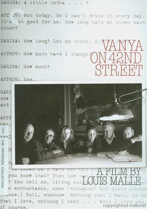 Vanya On 42nd Street: The Criterion Collection