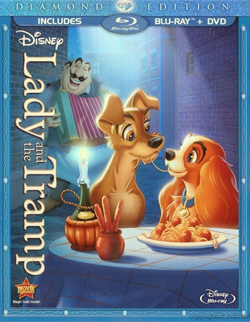 Lady And The Tramp: Diamond Edition (Blu-ray + DVD Combo)