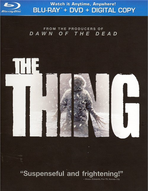 Thing, The (Blu-ray + DVD + Digital Copy + UltraViolet)