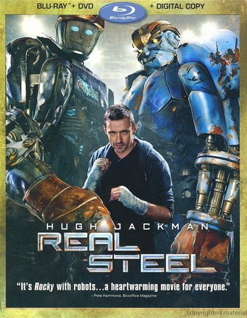 Real Steel (Blu-ray + DVD + Digital Copy)