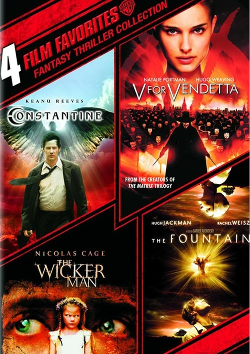 4 Film Favorites: Fantasy Thrillers Collection