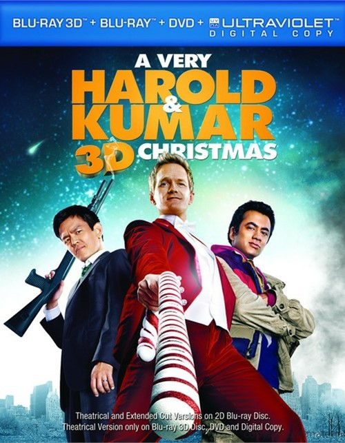 Very Harold & Kumar 3D Christmas, A (Blu-ray 3D + Blu-ray + DVD + Digital Copy)