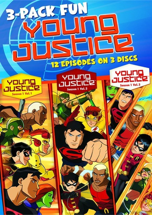 Young Justice (3 Pack)