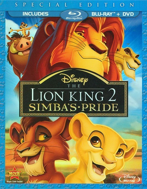 Lion King 2, The: Simbas Pride - Special Edition (Blu-ray + DVD Combo)