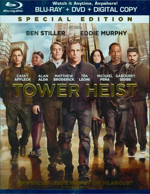 Tower Heist (Blu-ray + DVD + Digital Copy + UltraViolet)