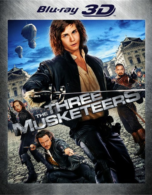 Three Musketeers 3D, The (Blu-ray 3D)