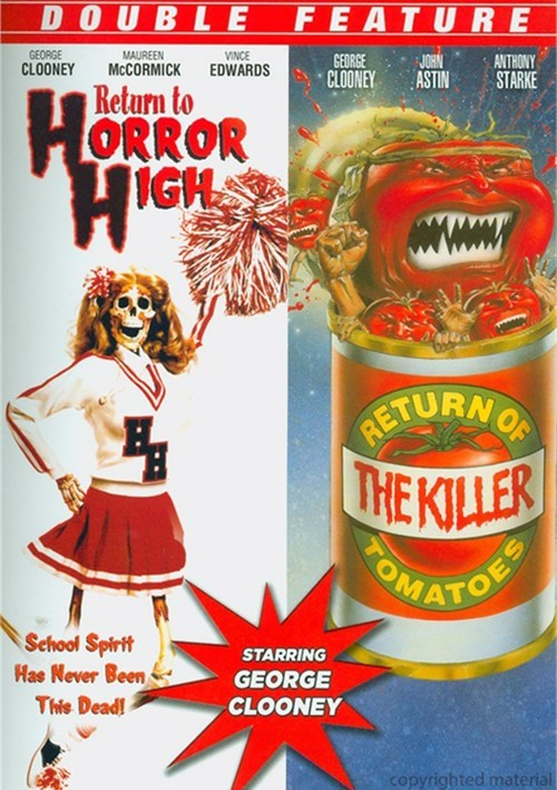 Return To Horror High / Return Of The Killer Tomatoes (Double Feature)