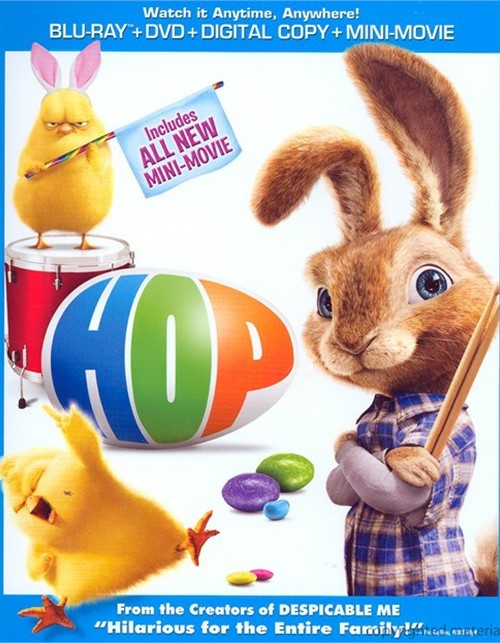 Hop (Blu-ray + DVD + Digital Copy + UltraViolet)
