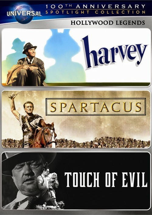 Hollywood Legends Spotlight Collection (Harvey / Spartacus / Touch of Evil)