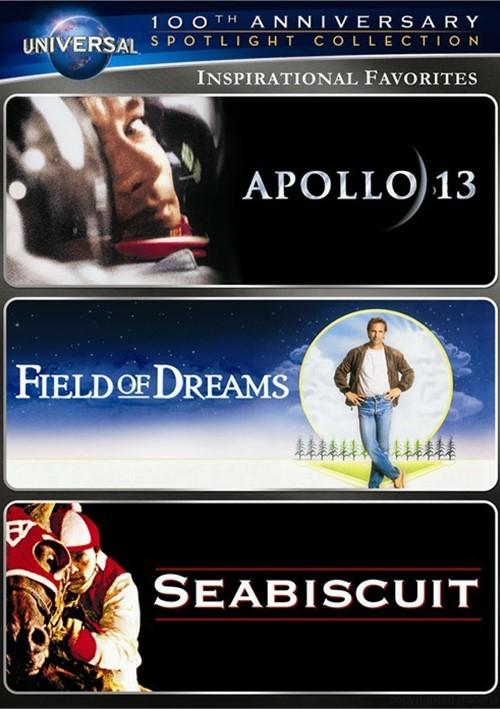Inspirational Favorites Spotlight Collection (Apollo 13 / Field of Dreams / Seabiscuit)