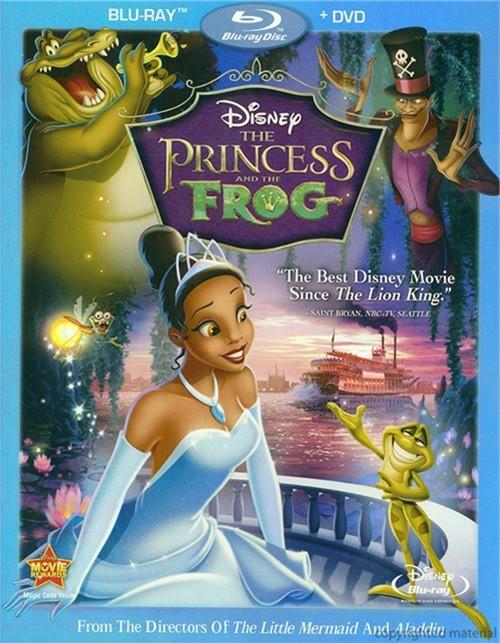 Princess And The Frog, The (Blu-ray + DVD Combo)