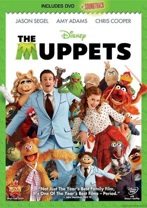 Muppets, The (DVD + Soundtrack Download Card)
