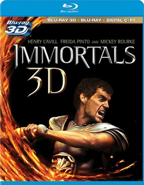 Immortals 3D (Blu-ray 3D + Blu-ray + Digital Copy)