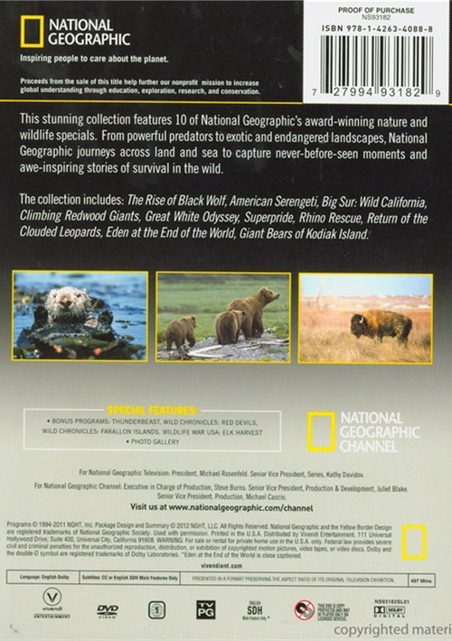 New Trans Am >> National Geographic: Ultimate Nature Collection - Volume Two (DVD) | DVD Empire
