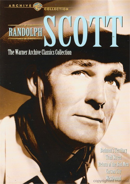 Randolph Scott: The Warner Archives Classics Collection