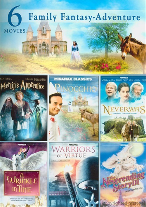 6 Movie Pack: Family Fantasy Adventure
