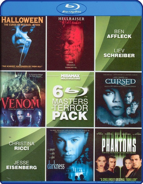 6 Film Masters Of Terror Vol. 2