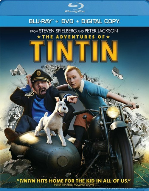 Adventures Of Tintin, The (Blu-ray + DVD + Digital Copy)