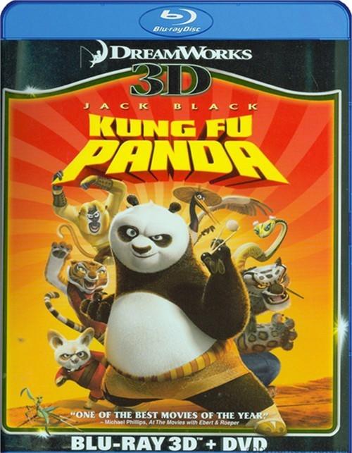 Kung Fu Panda 3D (Blu-ray 3D + DVD Combo)