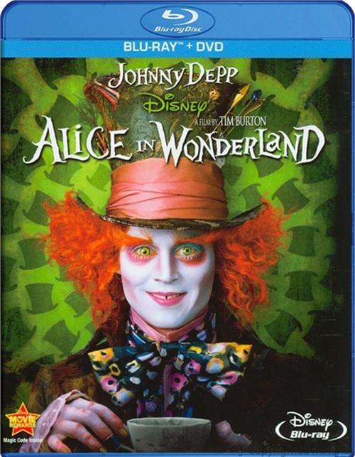 Alice In Wonderland (Blu-ray + DVD)
