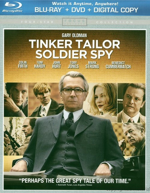 Tinker, Tailor, Soldier, Spy (Blu-ray + DVD + Digital Copy + UltraViolet)