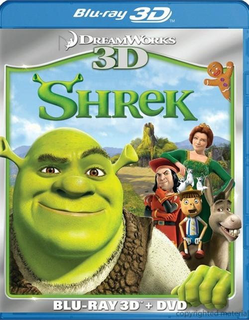 Shrek 3D (Blu-ray 3D + DVD Combo)