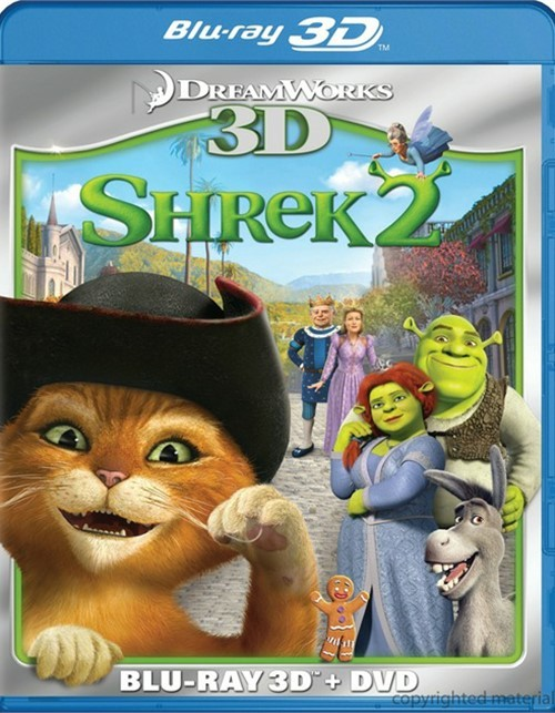 Shrek 2 3D (Blu-ray 3D + DVD Combo)