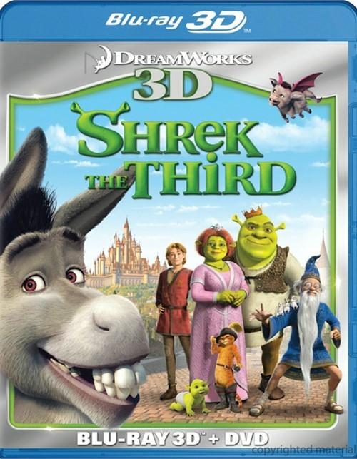 Shrek The Third 3D (Blu-ray 3D + DVD Combo)