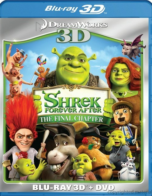 Shrek Forever After 3D (Blu-ray 3D + DVD Combo)
