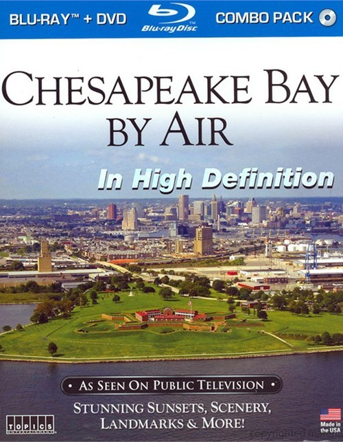 Chesapeake Bay By Air In High Definition (Blu-ray + DVD Combo)