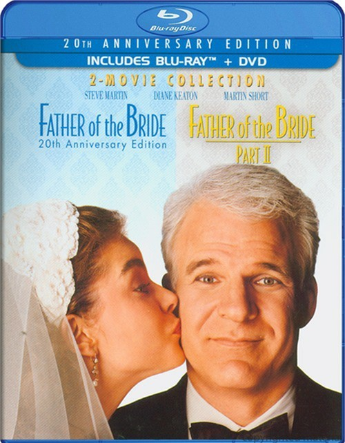 Father Of The Bride: 20th Anniversary Edition - 2 Movie Collection (Blu-ray + DVD Combo)