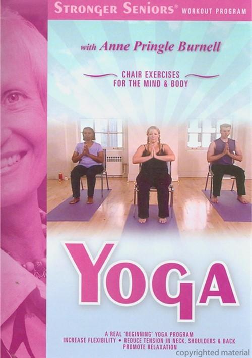Stronger Seniors: Yoga Chair Exercise