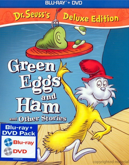 Dr. Seuss Green Eggs & Ham And Other Stories - Deluxe Edition (Blu-ray + DVD Combo)