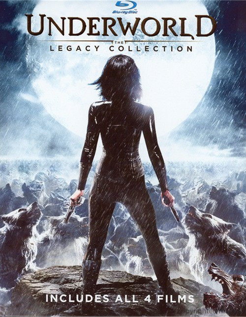 Underworld: The Legacy Collection (Blu-ray + UltraViolet)