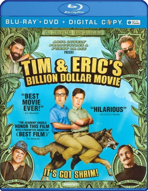 Tim And Erics Billion Dollar Movie (Blu-ray + DVD + Digital Copy)