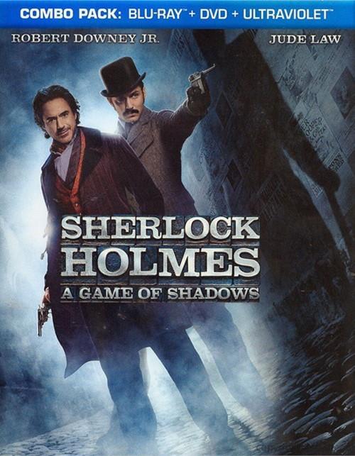 Sherlock Holmes: A Game Of Shadows (Blu-ray + DVD + Digital Copy)