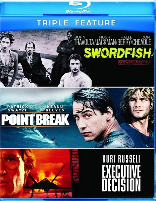 Executive Decision / Point Break / Swordfish (Triple Feature)