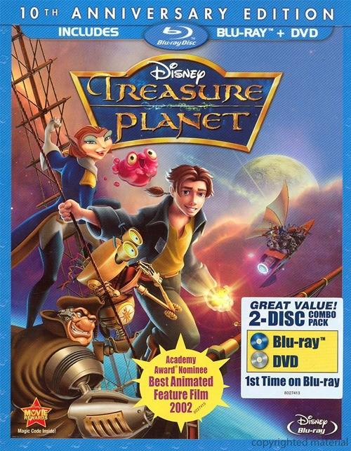 Treasure Planet (Blu-ray + DVD Combo)