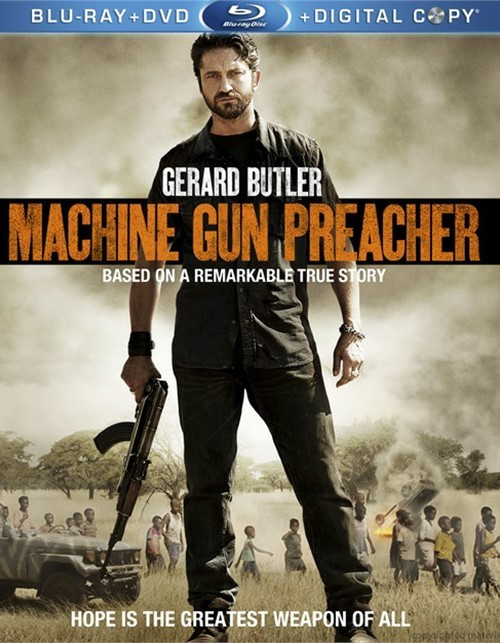 Machine Gun Preacher (Blu-ray + DVD + Digital Copy)