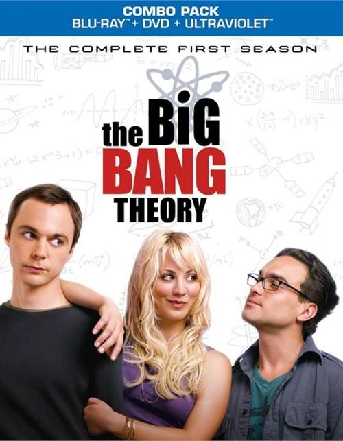 Big Bang Theory, The: The Complete First Season (Blu-ray + DVD Combo)
