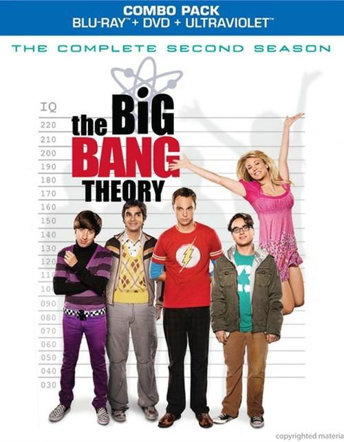 Big Bang Theory, The: The Complete Second Season (Blu-ray + DVD Combo)