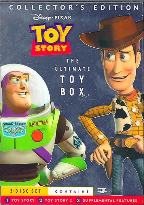 Toy Story: The Ultimate Toy Box - 3 Disc Collectors Set