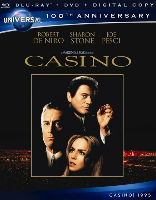 Casino (Blu-ray + DVD + Digital Copy)