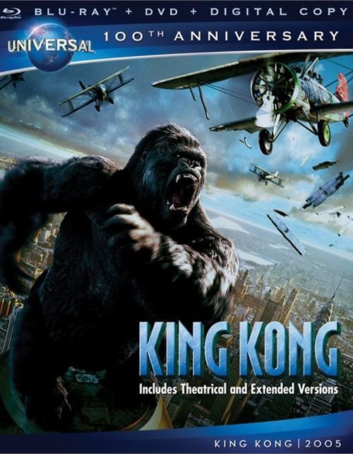 King Kong (Blu-ray + DVD + Digital Copy)