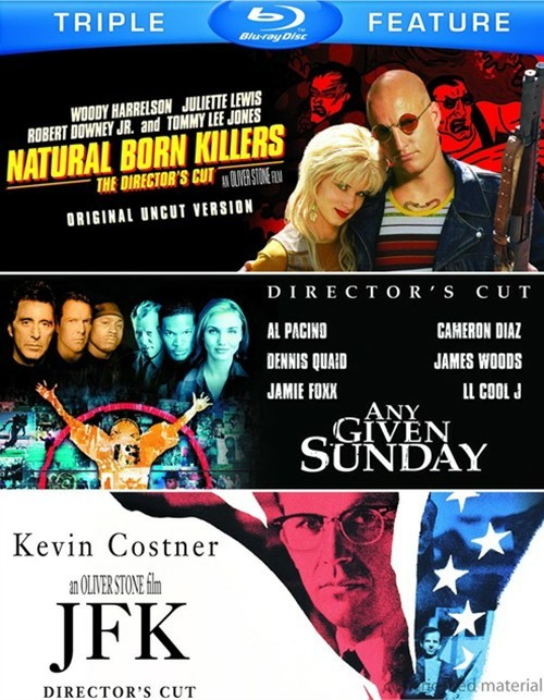 Natural Born Killers: Directors Cut / Any Given Sunday / JFK (Triple Feature)